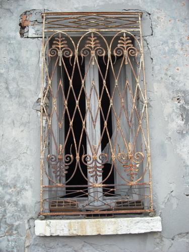 風景 イタリア 窓