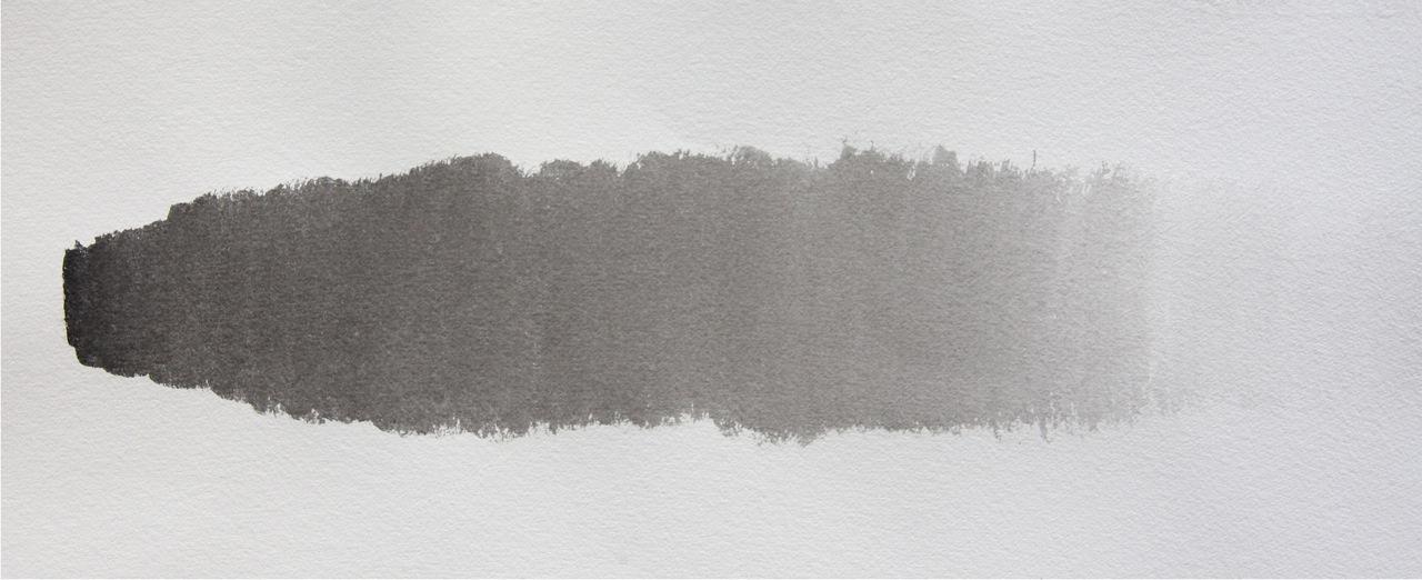 墨のグラデーション 画塾