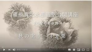 動画秋の実り画面